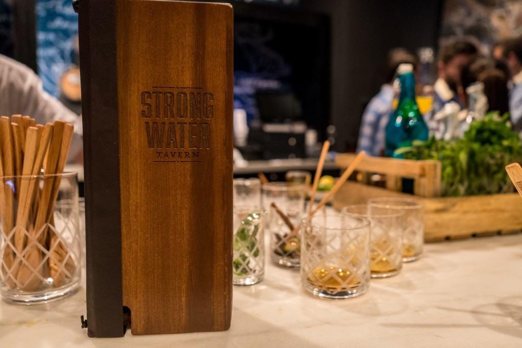 Strong Water Tavern - rum tasting at Loews Sapphire Falls Resort