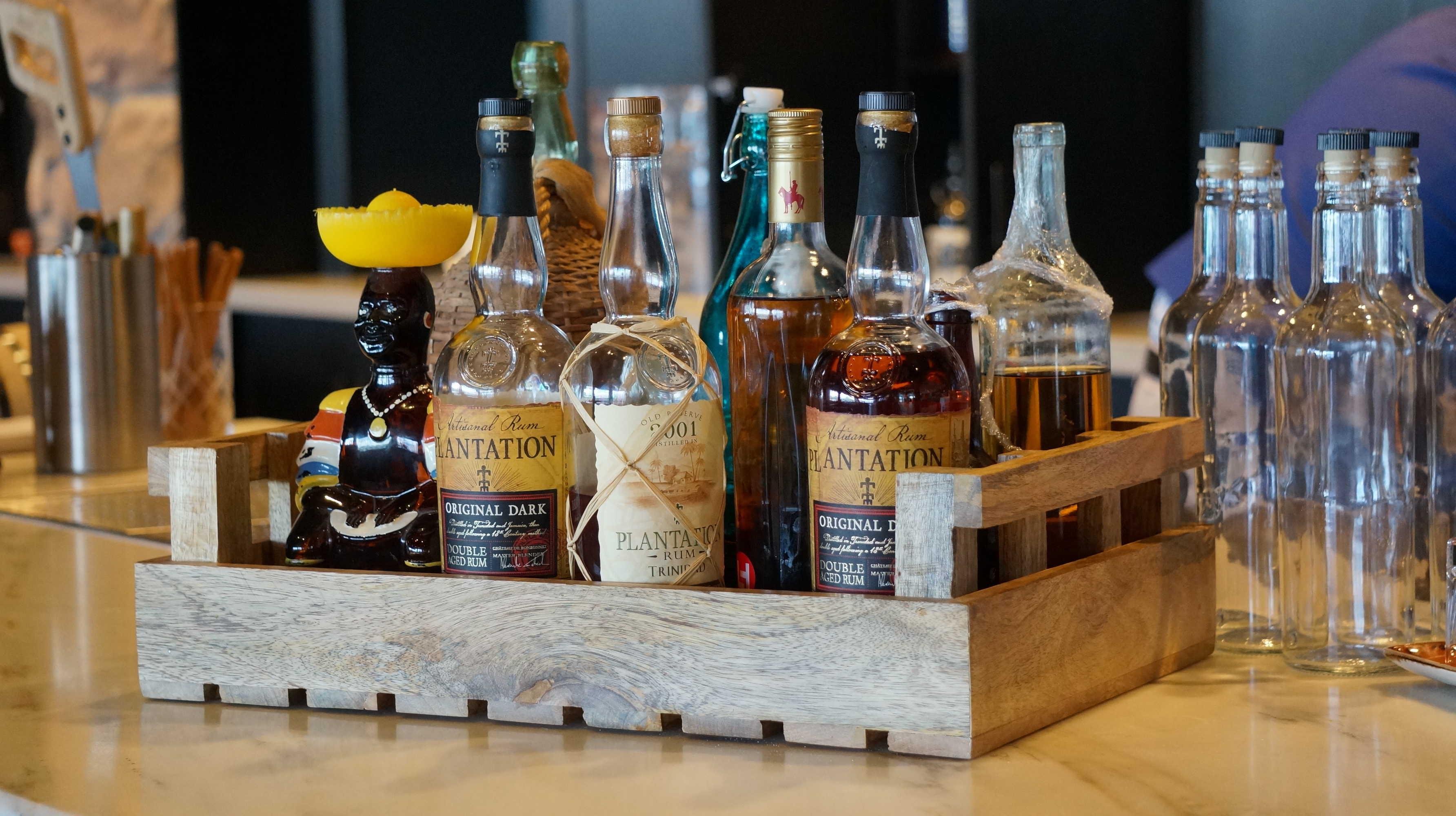 REVIEW: Strong Water Tavern Rum Tasting at Sapphire Falls Resort