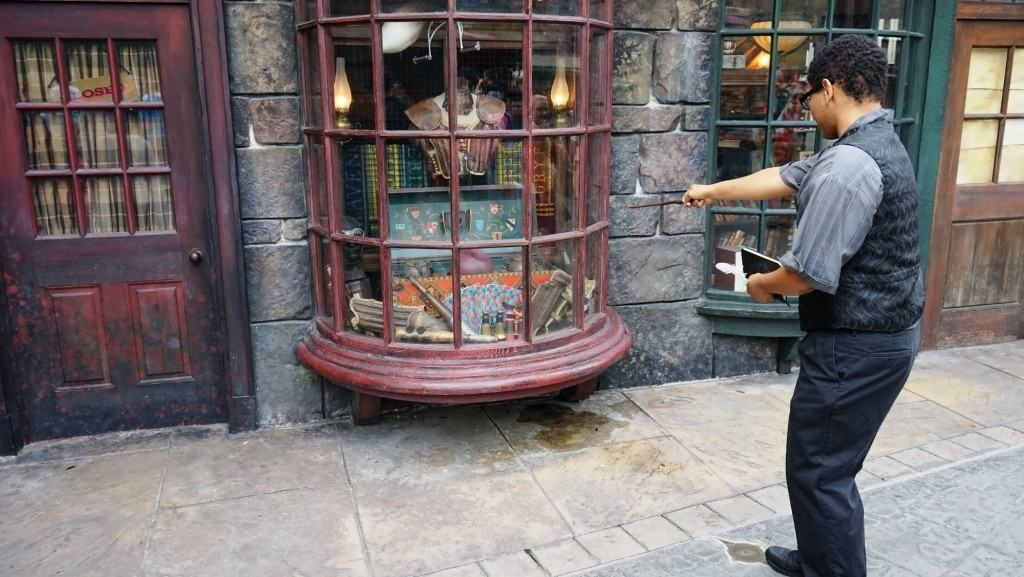 Harry Potter Interactive wand experience