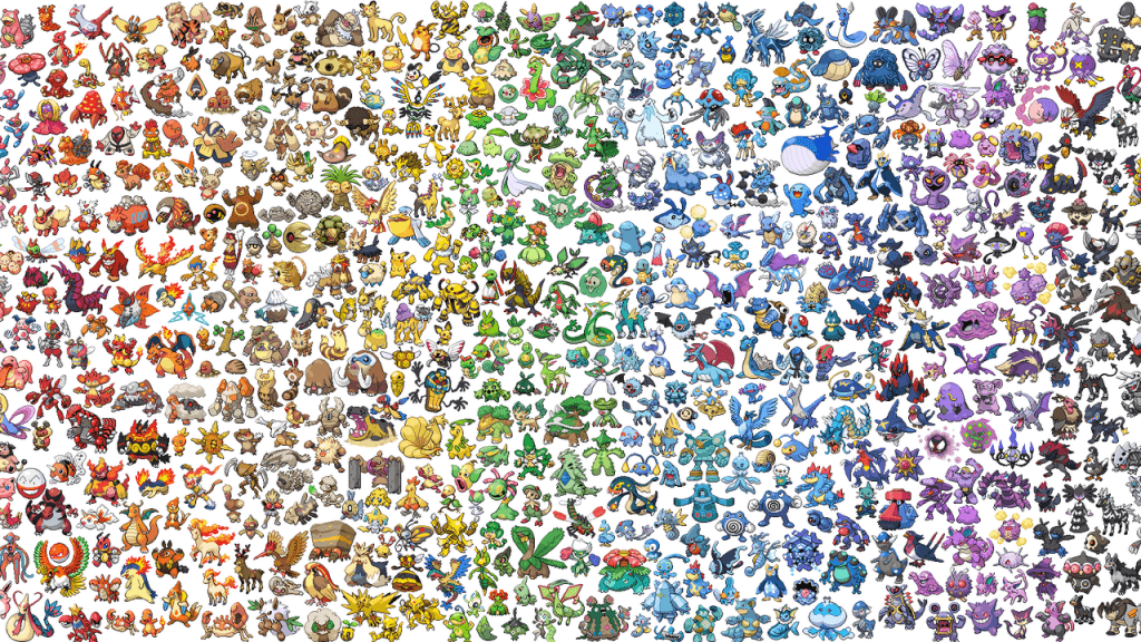 Pokemon collage