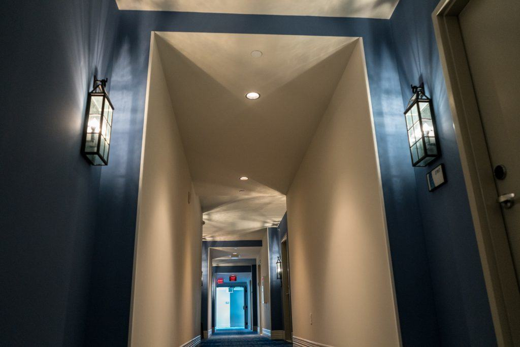 Hotel Hallway at Loews Sapphire Falls Resort