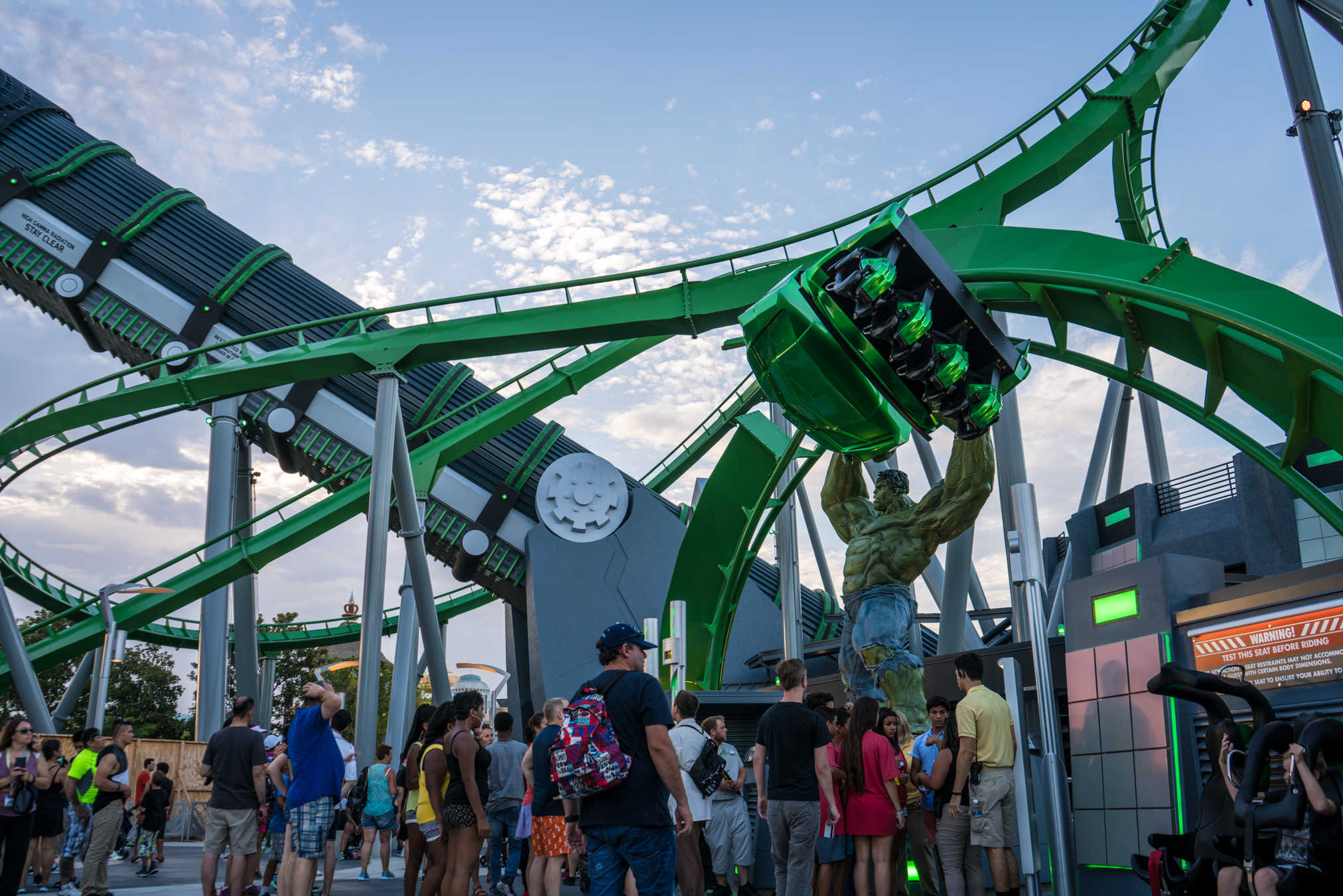 New Incredible Hulk Coaster begins soft opening at Universal's Islands of Adventure