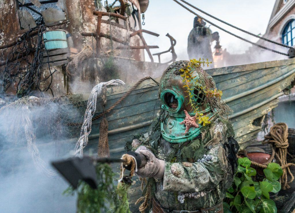 Dead Man's Wharf in Halloween Horror Nights 2016 at Universal Orlando Resort