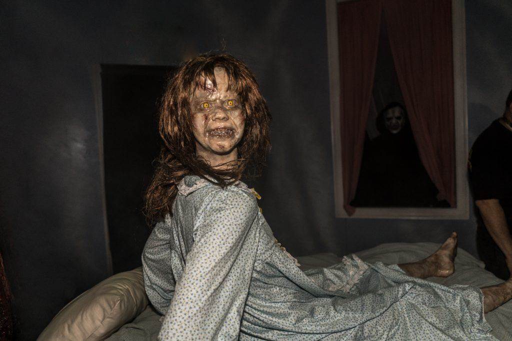 The Exorcist in Halloween Horror Nights at Universal Orlando Resort.