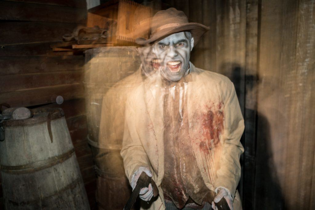 Ghost Town: The Curse of Lightning Gulch at Universal Orlando's Halloween Horror Nights 26.