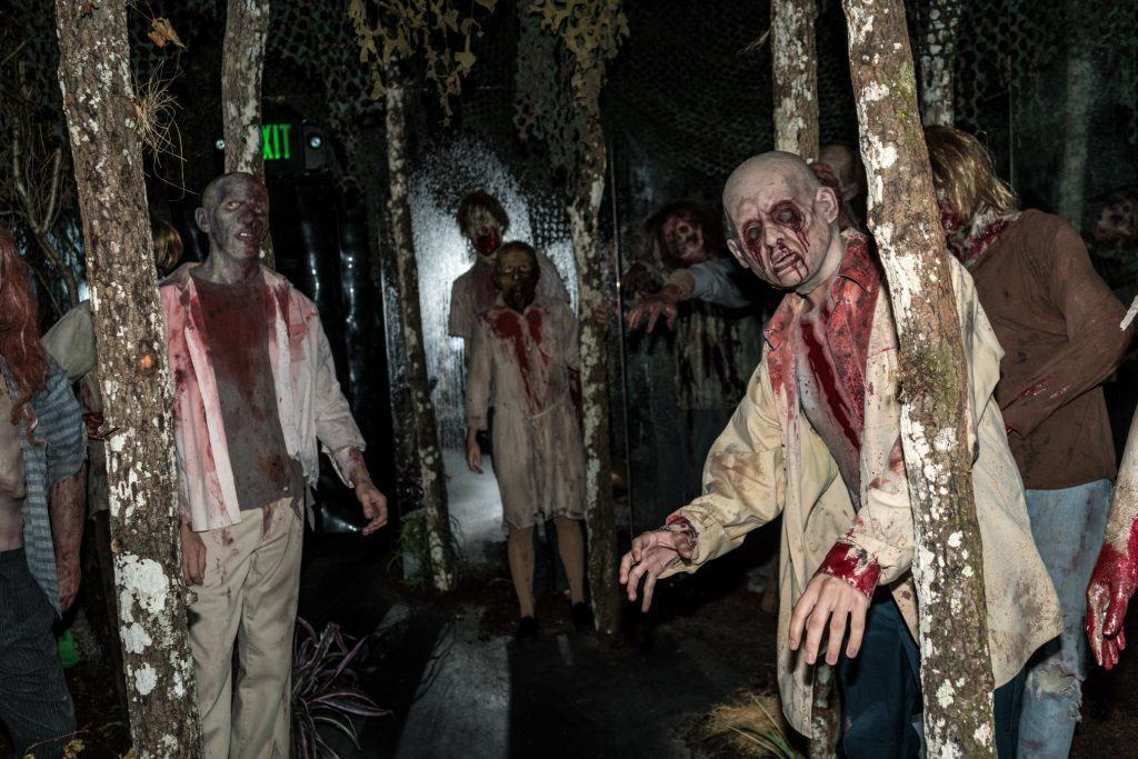 The Walking Dead in Halloween Horror Nights 2016 at Universal Orlando Resort.