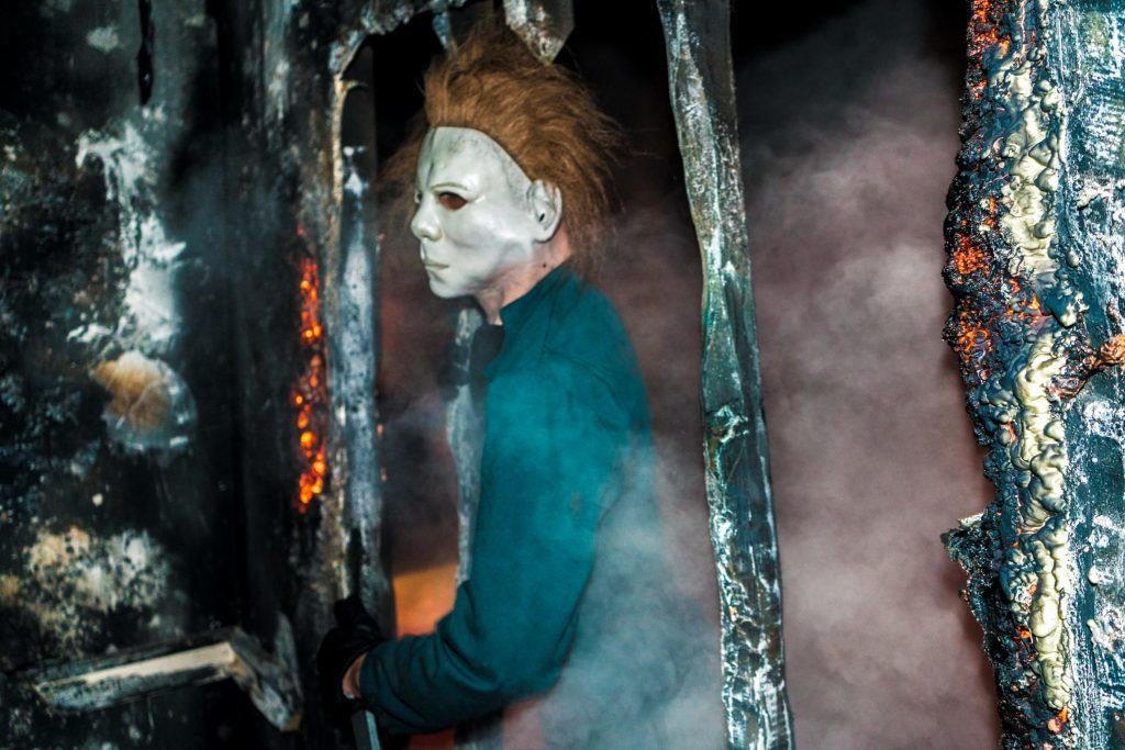 Halloween in Halloween Horror Nights 2016 at Universal Orlando Resort.