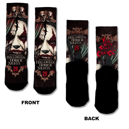 Halloween Horror Nights 26 Chance Socks ($18.95)