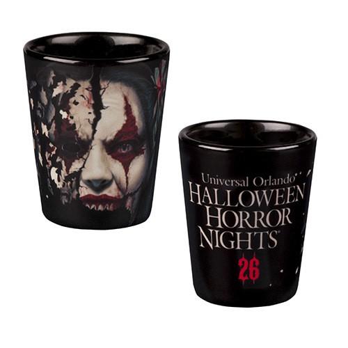 Halloween Horror Nights 26 Chance Shot Glass ($9.95)