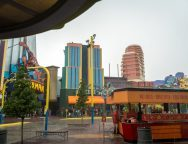 Rain at Universal Orlando Resort