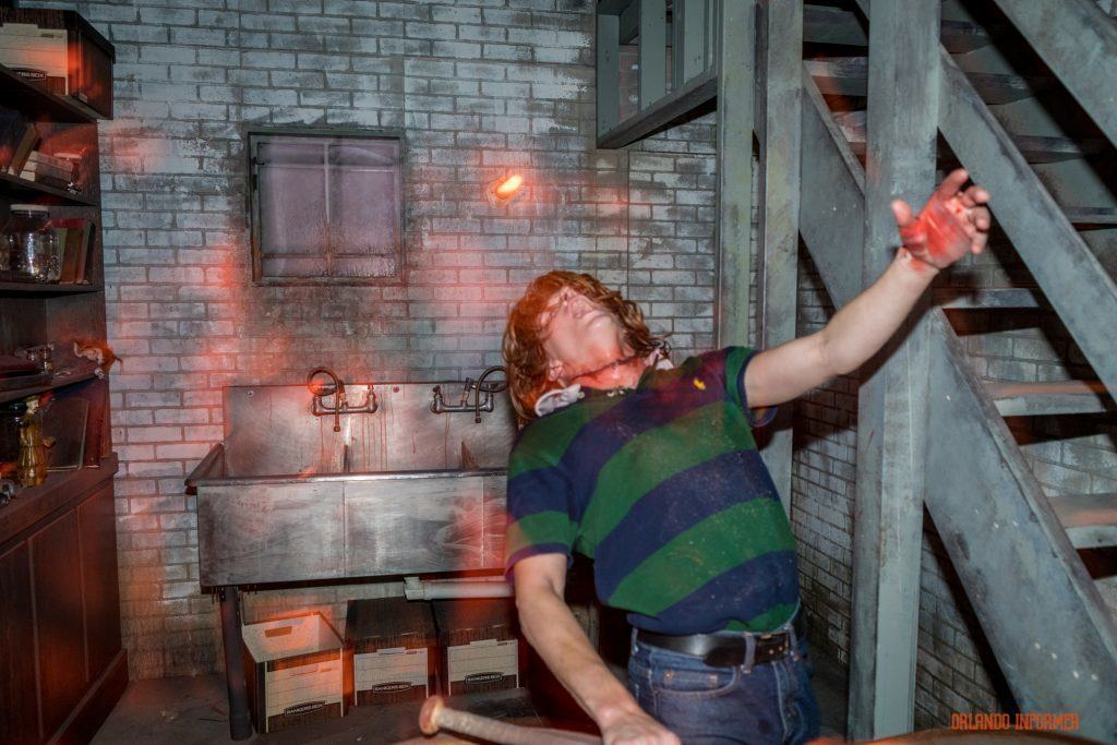 Troy in American Horror Story at Universal Orlando's Halloween Horror Nights 2016