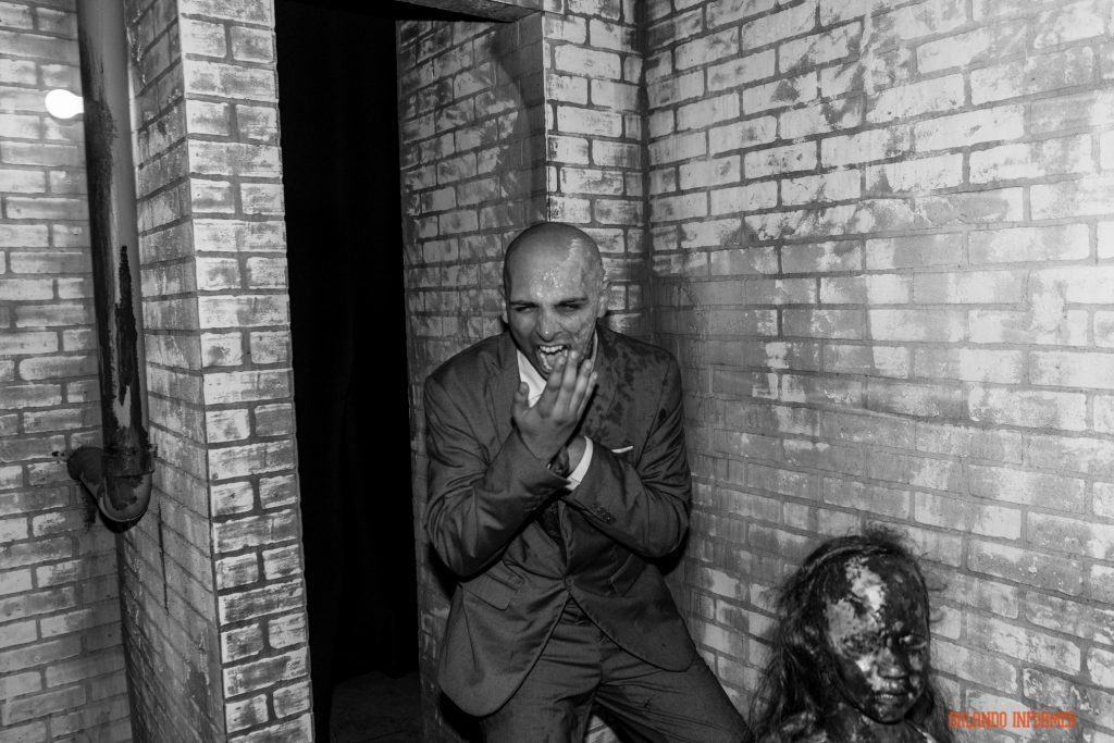 Larry Harvey in American Horror Story at Universal Orlando's Halloween Horror Nights 2016