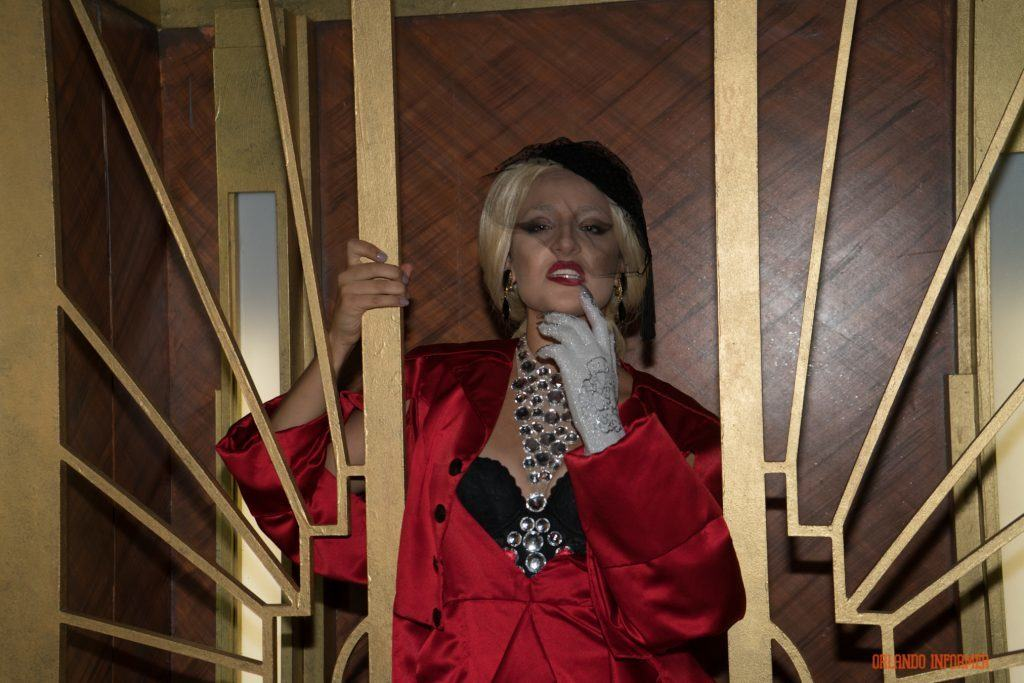 Elizabeth Johnson in American Horror Story at Universal Orlando's Halloween Horror Nights 2016