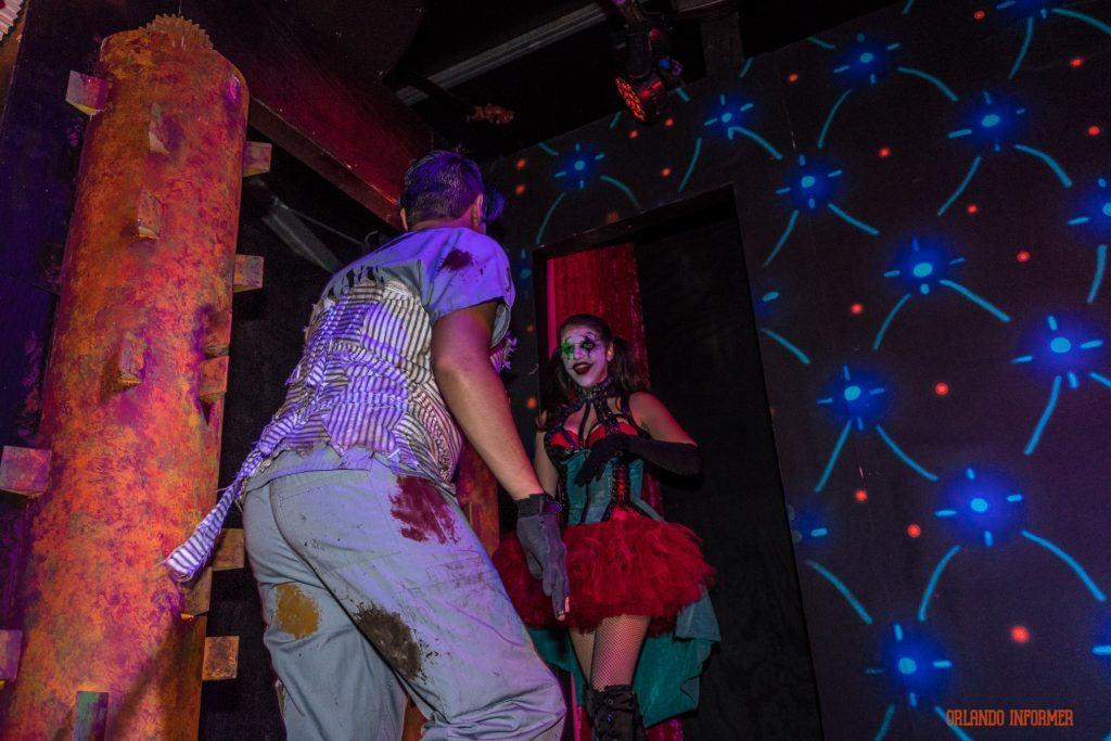Lunatics Playground 3D at Universal Orlando's Halloween Horror Nights 2016