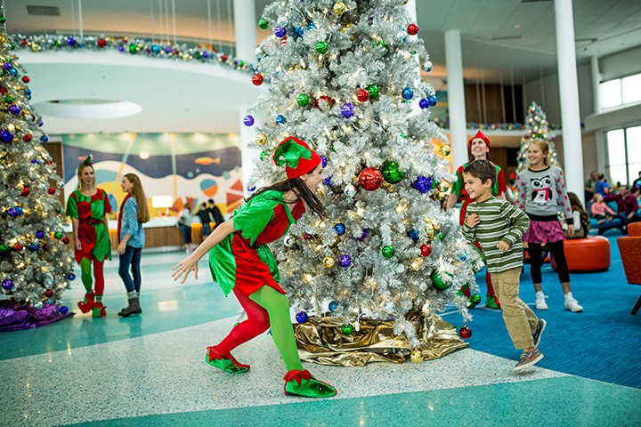 Elves at Cabana Bay Beach Resort at Universal Orlando
