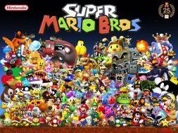 Super Mario Bros cast of characters