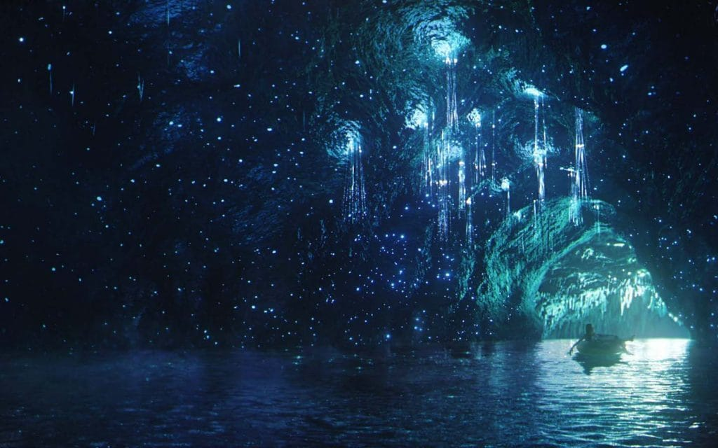 Concept art for Star Gazers Cavern at Universal's Volcano Bay