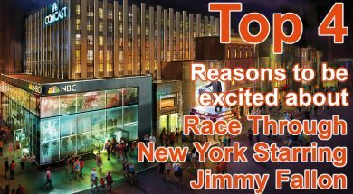 4 Reasons to be excited about Race Through New York Starring Jimmy Fallon