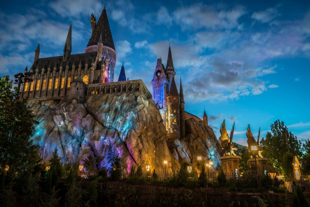 Harry Potter and the Forbidden Journey's new landscaping