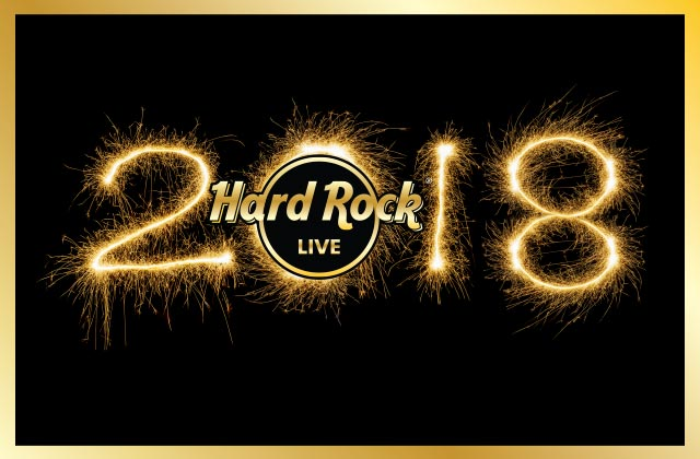 Rock 'til the Drop 2017 New Year's party at Hard Rock Live