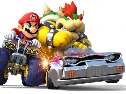Mario Kart Mario vs. Bowser
