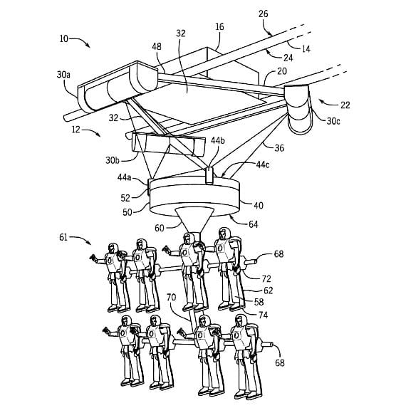 "Univeral's patent for ""simulator ride"""