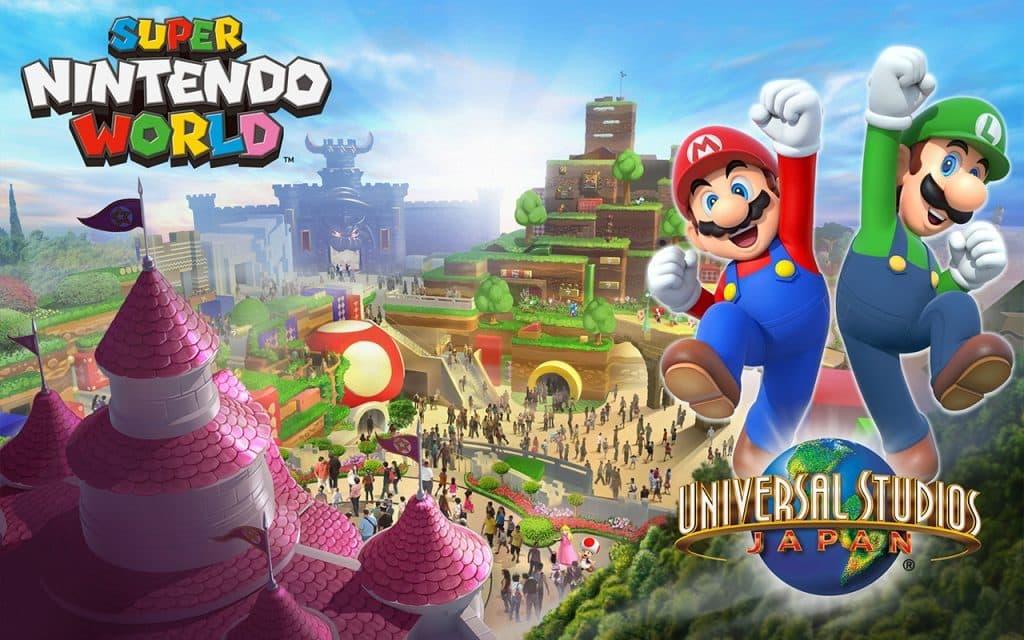 Super Nintendo World coming to Universal Studios Japan