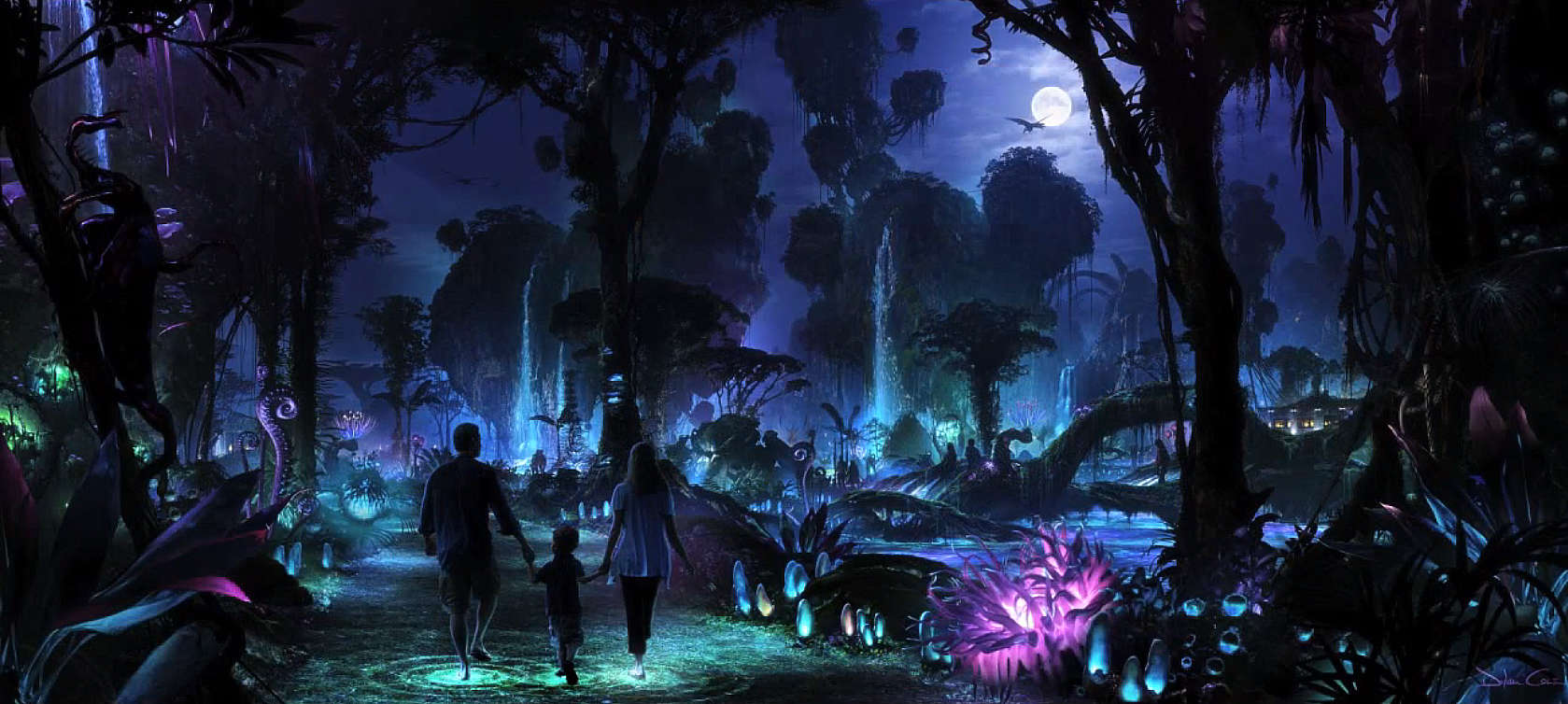 New Pandora – The World of AVATAR video shows guests inside the new expansion