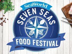 SeaWorld Orlando's Seven Seas Food Festival logo