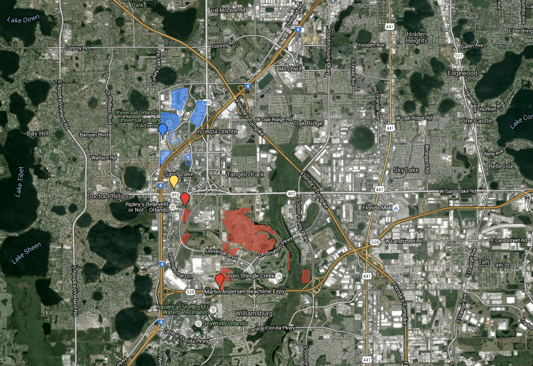 Universal Orlando Florida Map.11 Future Attractions Coming To Universal In 2017 And Beyond