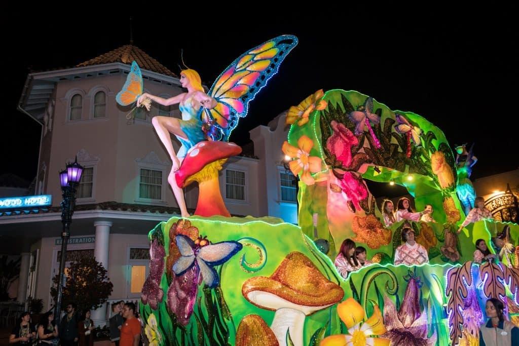 Garden Sprites at Universal's Mardi Gras 2017
