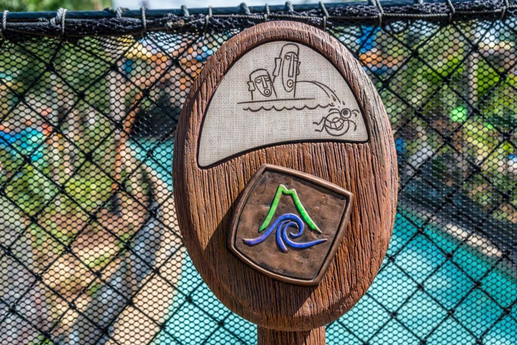 TapTu Play point at Universal's Volcano Bay