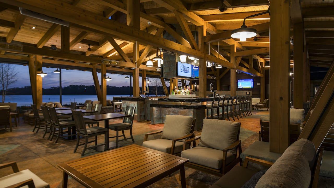 Geyser Point Bar Amp Grill Now Open At Disney S Wilderness