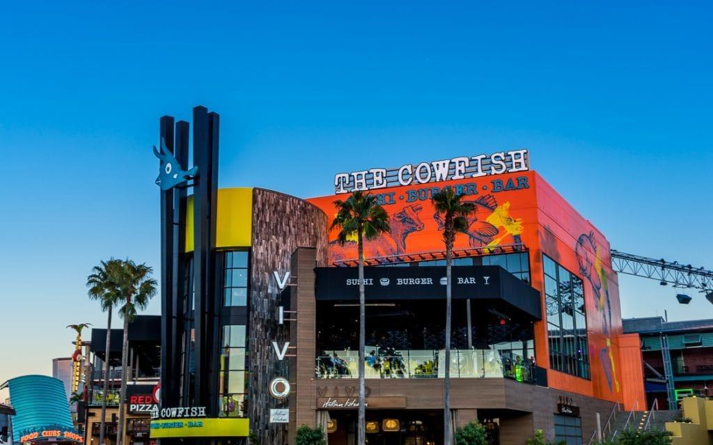 The Cowfish Sushi Burger Bar at Universal Orlando CityWalk