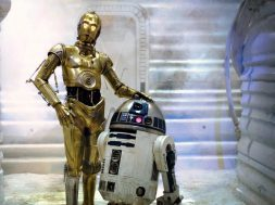 C-3PO and R2-D2 in Disney's Star Wars