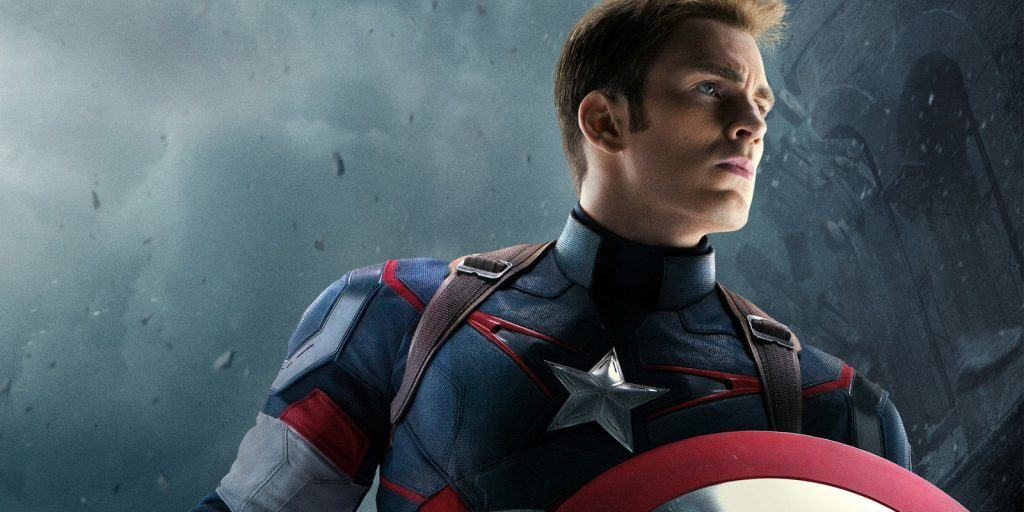 Chris Evans as Captain America in the Marvel Cinematic Universe