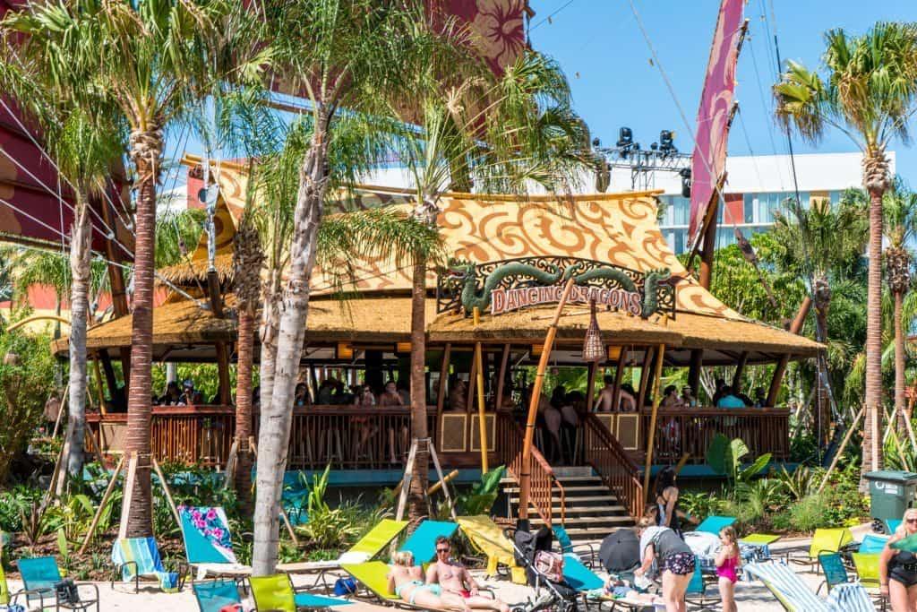 Dancing Dragons Boat Bar at Universal's Volcano Bay