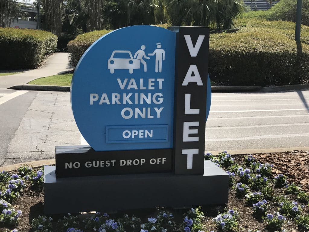 Valet Parking at Universal Orlando Resort