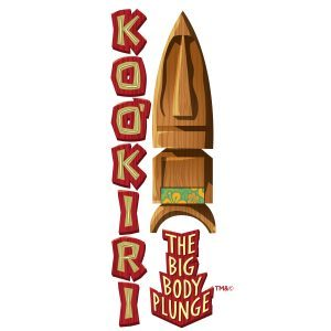 Ko'okiri Body Plunge logo at Universal's Volcano Bay
