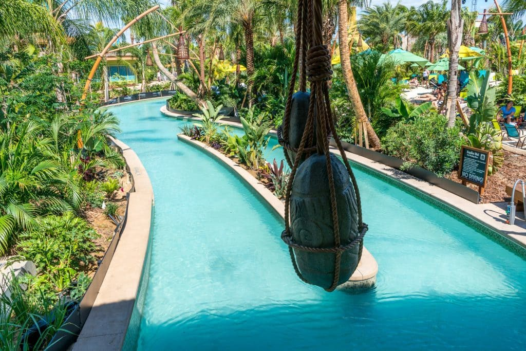 Kopiko Wai Winding River at Universal's Volcano Bay
