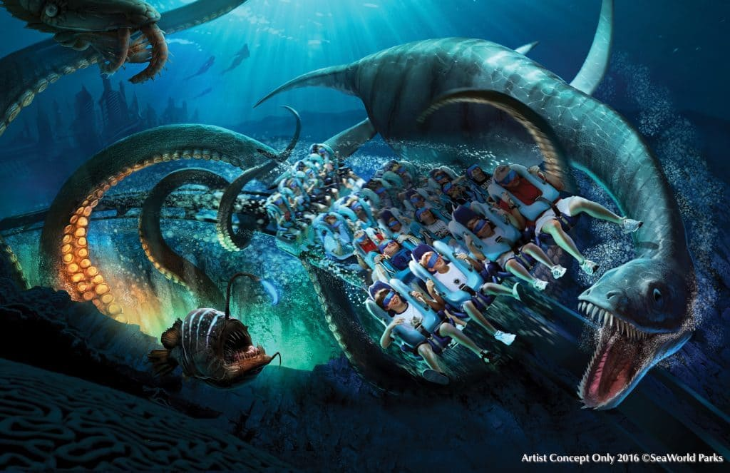 Kraken's new VR upgrade at SeaWorld Orlando
