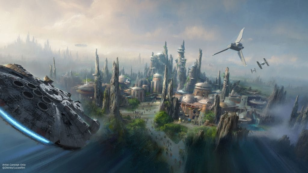 Star Wars Land at Hollywood Studios early concept art