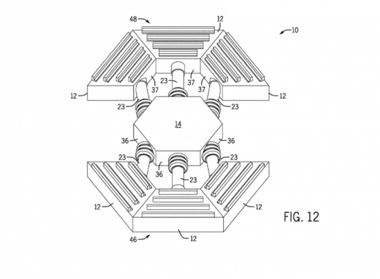 Univeral's moving puzzle theater patent