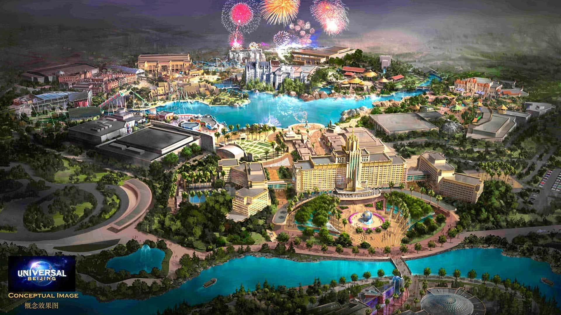 Universal expanding its global theme park empire?
