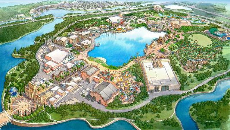 Universal Studios South Korea concept art