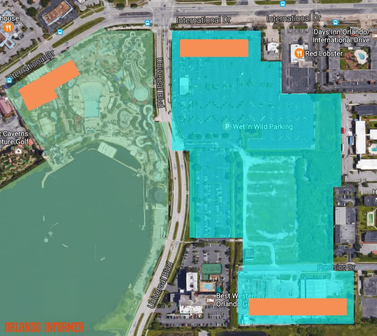 Wet 'n Wild Orlando replacement map