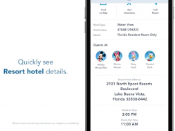 New features announced for the My Disney Experience app