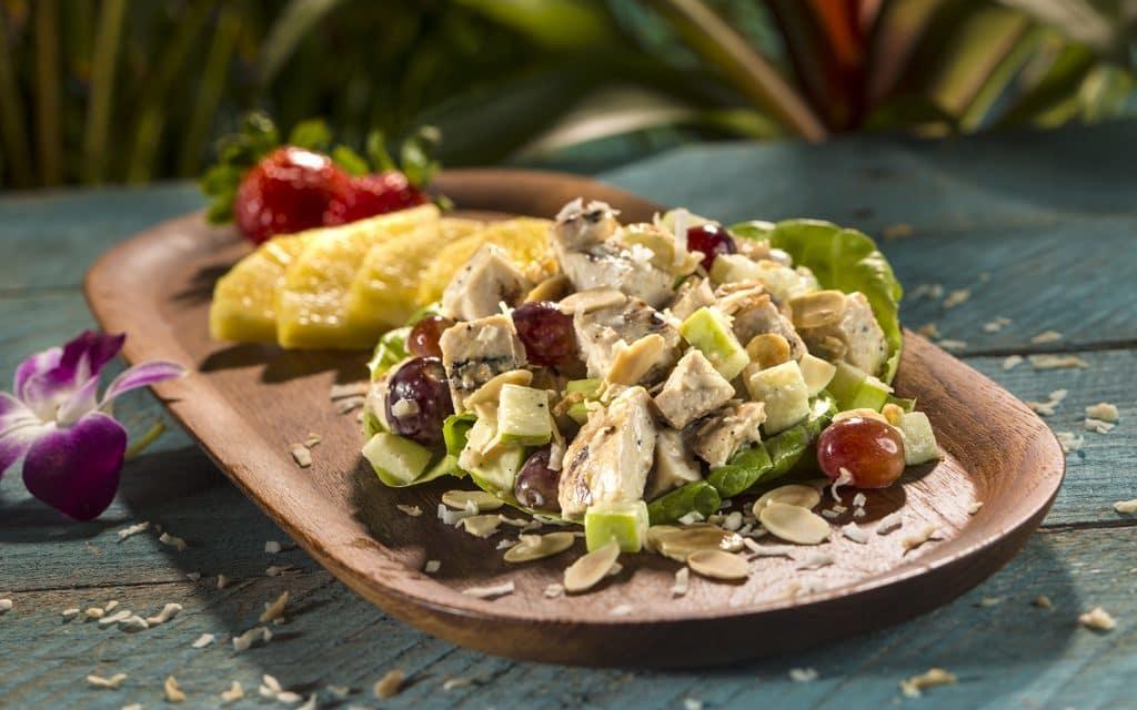 Island Chicken Salad from Kohola Reef Restaurant at Universal's Volcano Bay