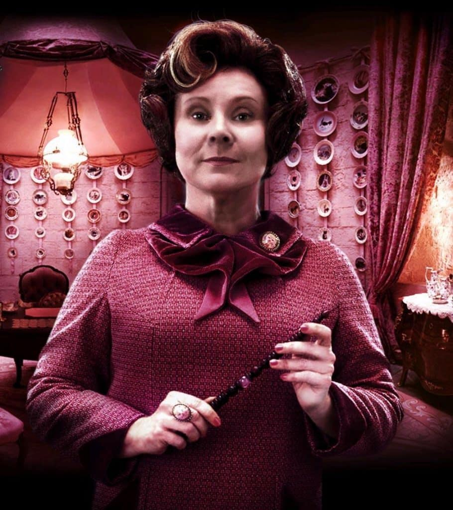 Professor Umbridge in Harry Potter and the Order of the Phoenix