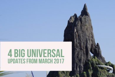 4 BIG Universal updates from March 2017